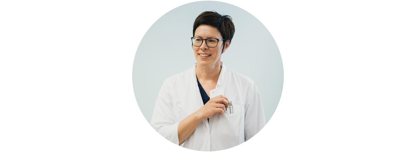 Vaasan terveyskeskuksen koulutusylilääkäri Tanja Eriksson